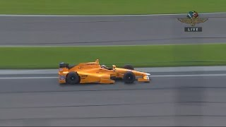 Fernando Alonso tests Indycar for the first time ever #29
