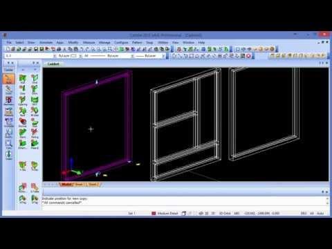 how to create door and window assemblies in aca