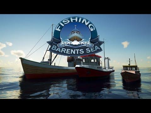 Fishing Barents Sea  - New Sea fishing simulation game -  Fishing Barents sea long line tutorial