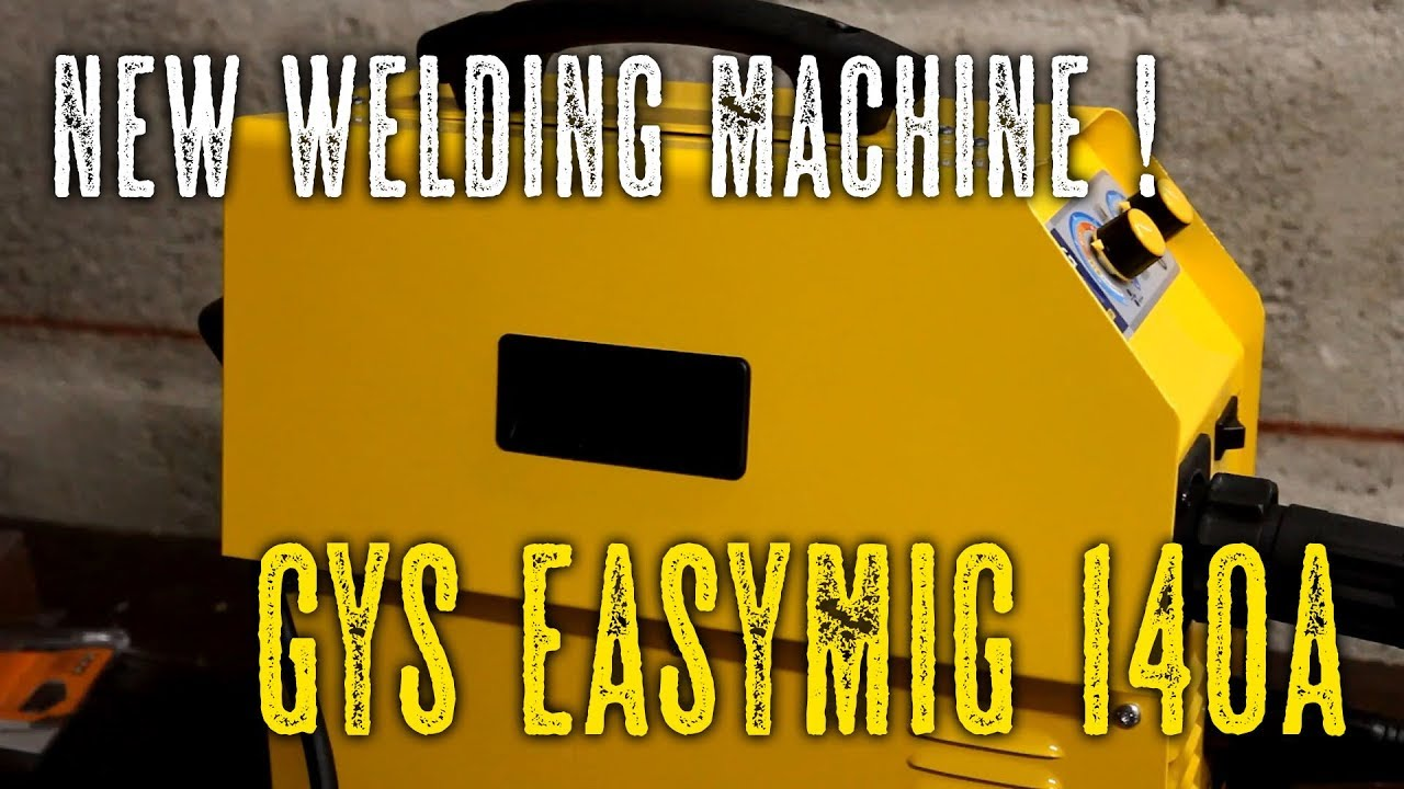 GYS EasyMig 140A unboxing and setup - YouTube