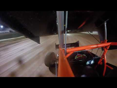 First time in a 360 sprint car. (10/2/2019) - dirt track racing video image