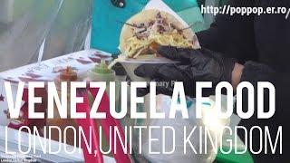 베네수엘라 전통 음식-런던 브릭레인 선데이마켓,영국