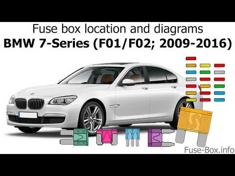 [DIAGRAM_38DE]  Fuse box location and diagrams: BMW 7-Series (F01/F02; 2009-2016) - YouTube | 2010 Bmw 750li Fuse Box |  | YouTube