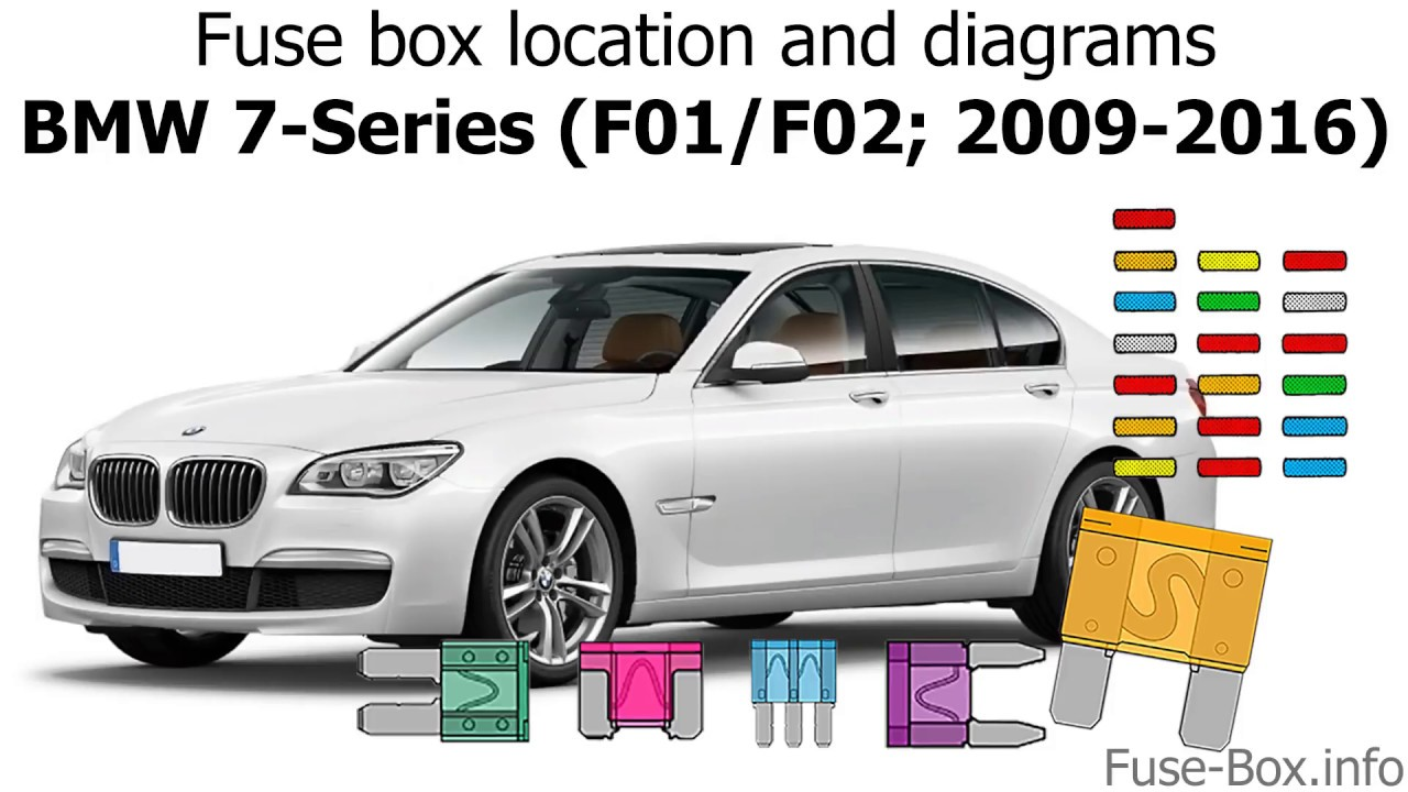 fuse box location and diagrams bmw 7 series f01 f02 2009 2016  [ 1280 x 720 Pixel ]