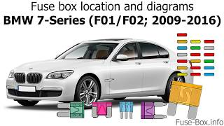 [ZSVE_7041]  Fuse box location and diagrams: BMW 7-Series (F01/F02; 2009-2016) - YouTube | 2010 Bmw F01 Wiring Diagram Ac |  | YouTube