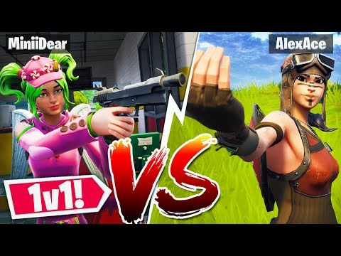 *NEW* FORTNITE 1v1 VS My GIRLFRIEND! L Custom Gamemode In Fortnite Playground Mode!