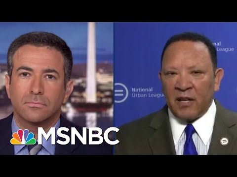 Watch Donald Trump Get Busted For His New 'Birtherism' On Live TV | The Beat With Ari Melber | MSNBC