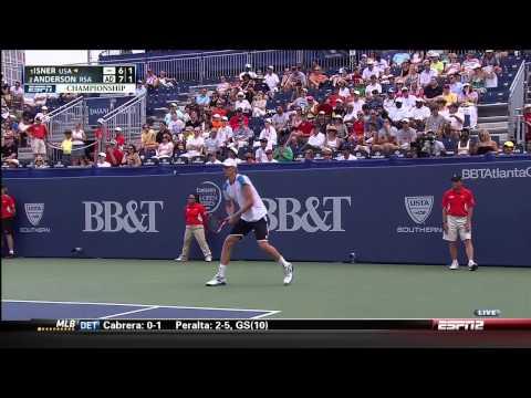 BBT Atlanta Open 2013 Final Isner vs. Anderson FULL MATCH