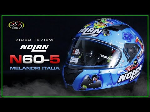 Casco Nolan N60-5 Melandri Italia - MOTOS DF