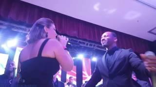 Buleria ft Maryann-Reina di Pordon @ Now & Then 2.0 @ Renaissance Convention Center Aruba 06-05-2016
