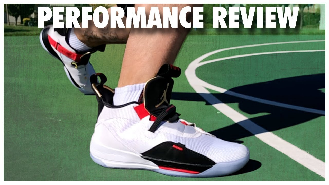 b69aa439dbf Air Jordan 33 Performance Review - YouTube
