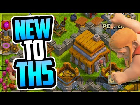TH 5 Walkthrough Episode 1 | New TH 5 Upgrade Priority | TH 5 Loot Tips And Tricks | Clash Of Clans