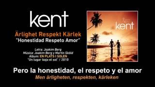 """KENT — """"Ärlighet Respekt Kärlek"""" (Subtítulos Español - Sueco)"""