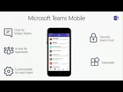 Collaboration on the go with Microsoft Teams mobile apps - B