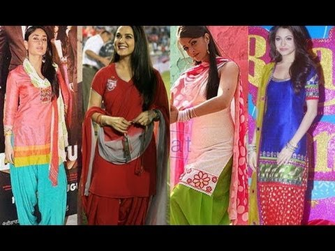 Easy Hairstyle For Salwar Suit : Rocking the patiala suit trend gorgeous you youtube