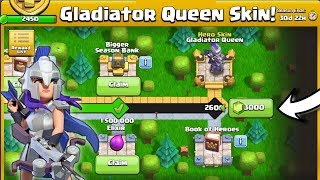 "Let's Unlock This New ""Gladiator Queen Skin"" With 3000 Gems In 1 Min😍"