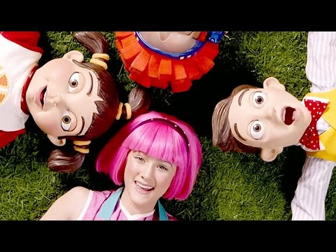 Lazy Town Stephanie Playing On The Playground | Lazy Town Songs