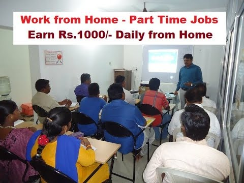 online jobs at home without investment - Tamil