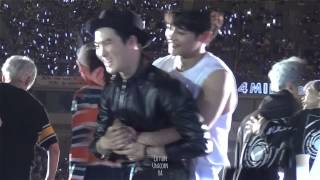 150523 Dream Concert Ending [ SUHO & LAY FOCUS ]