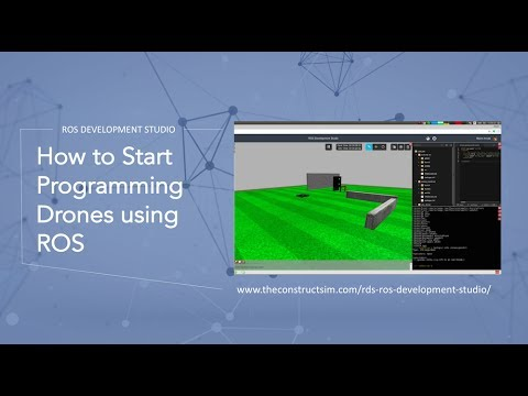 ROS Tutorial - How to Start Programming Drones using ROS