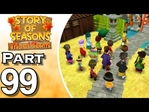 Story of Seasons: Trio of Towns - 3DS - Gameplay - Walkthrough - Let's Play - Part 99