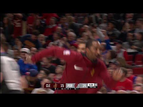 1st Quarter, One Box Video: Portland Trail Blazers vs. Cleveland Cavaliers