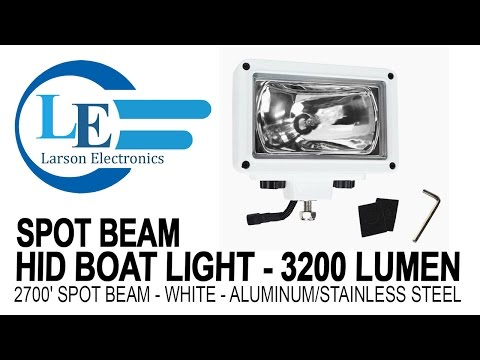 Halide Equiv High Intensity LED Light - Spot-Black-UK BS1363 30 LEDs 120-277V AC 150 Watts 14,790 Lumens