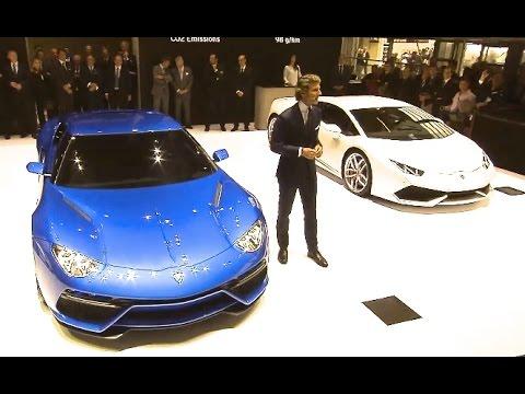 Lamborghini Asterion Launch Debut Paris Motor Show New Hybrid Concept Commercial CARJAM TV