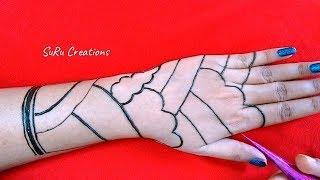 Easy Mehndi Trick | Best Henna design | Latest Mehndi Design 2019