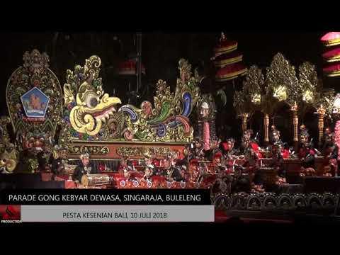 Gong Kebyar Dewasa Sanggar Seni Manik Uttara, Buleleng (PKB 2018)