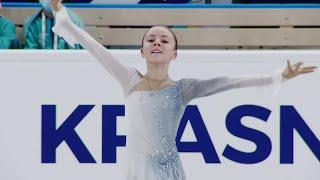 Елизавета Куликова Короткая программа Гран при по фигурному катанию среди юниоров 2021 22