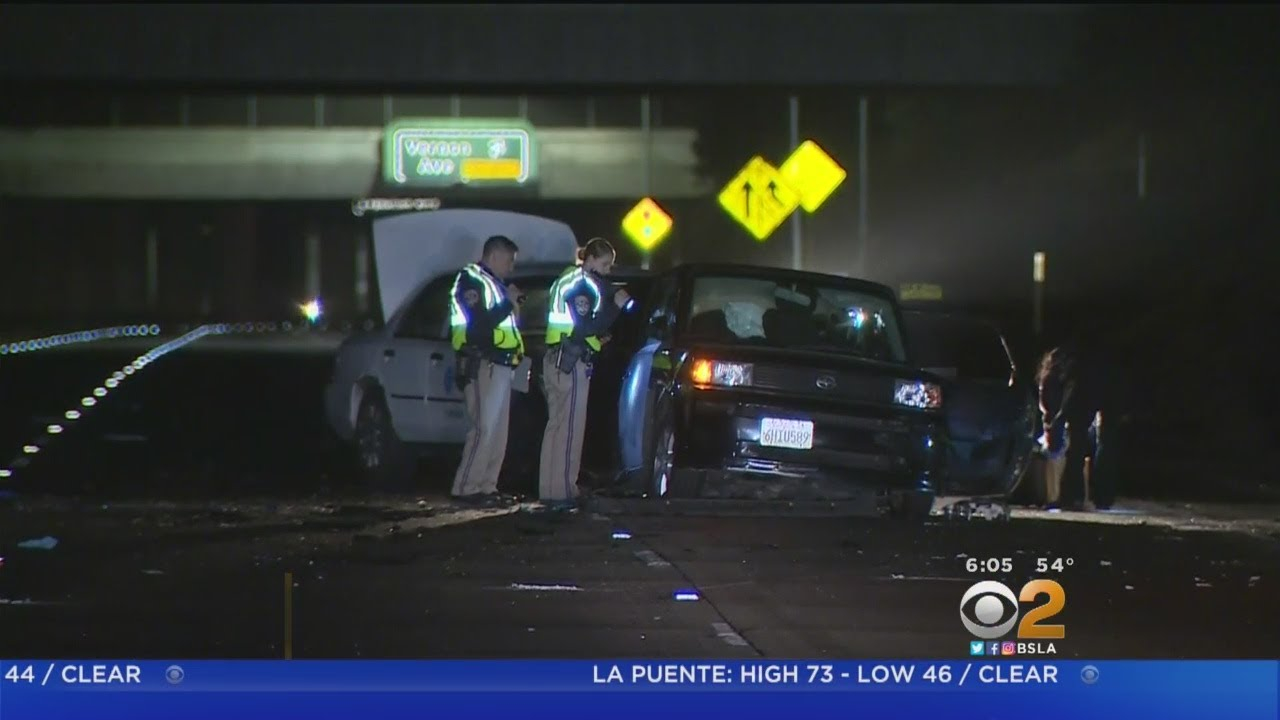 110 Freeway Reopens Hours After Double Fatal Crash