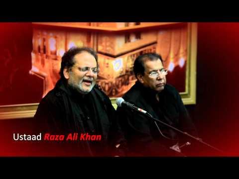 Sana-e-Murtaza A.s Hai Or Mai Hon | Ustaad Raza Ali Khan