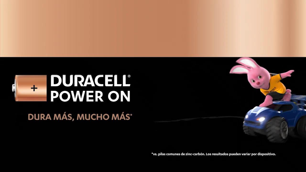 El Conejito Duracell jugando durante horas y horas #PowerOn
