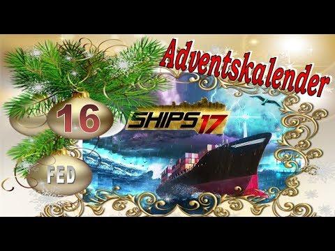 Adventskalender #16 Ships 2017 Schiff und Container Hafen Simulation #Let's Play #Weihnachten #Xmas