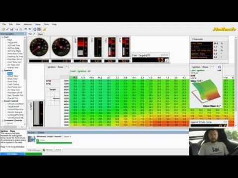Engine Management Tuning Walkthrough (full video)