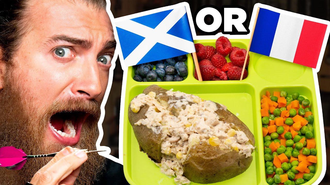 International School Lunch Taste Test