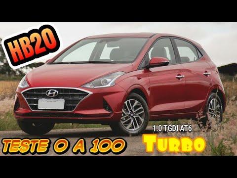 Teste 0 A 100 Hyundai HB20 1.0 TGDI Diamond Plus