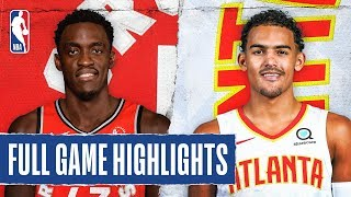 RAPTORS at HAWKS | FULL GAME HIGHLIGHTS | January 20, 2020