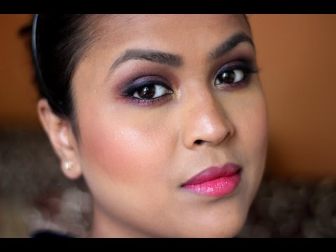 Indian Wedding Series - Cocktail Party Makeup Look - YouTube