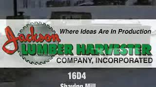 Jackson Wood Shaving Mill - Model 16D4 video