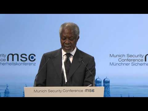Opening Statement Africa Keeping Peace  Kofi Annan On Munich Security Conference 2016