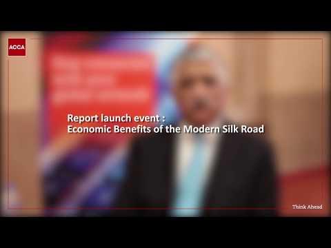 Shamsuddin A. Shaikh talks about ACCA's latest research on China-Pakistan Economic Corridor (CPEC)