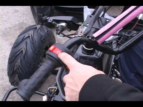 110 Switch To Schematic Wiring Diagram Chinese Atv Maintenance Video For Chinese Quad 4 Wheelers