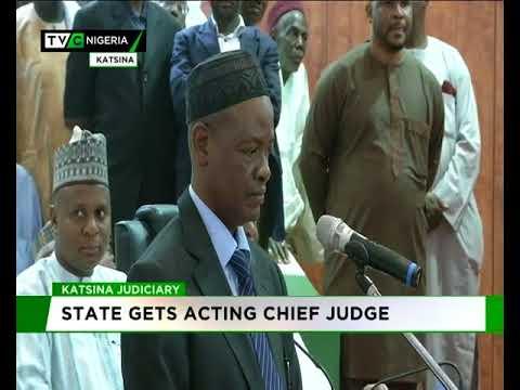Masari swears-in Katsina Acting Chief Judge