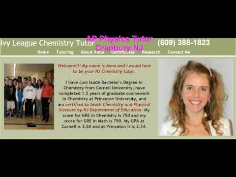 AP Chemistry, Honors Chemistry and Physics Tutor in Cranbury NJ 609-388-1823