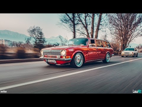 Советская мечта с Японским сердцем ГАЗ 24 V8 1UZ-FE Air
