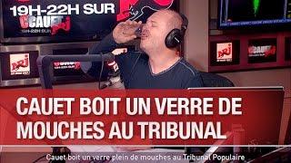 Cauet boit un verre plein de mouches au Tribunal Populaire - C'Cauet sur NRJ