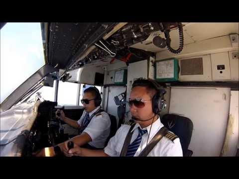 A day in a life of a pilot Tiara Air