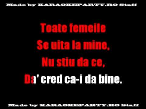 Mihai Margineanu - Ma Iubeste Femeile, Karaoke Romania